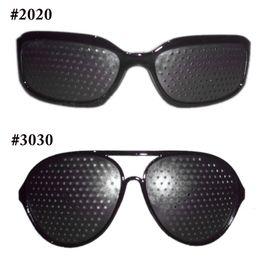 Wholesale New Fashion Style Unisex Glasses Anti fatigue Stenopeic Pinhole Eyewear Eyesight Improve Vision Care Sunglass