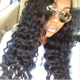 AAAAAAA Quality! Brazilian Human Hair Wavy Full Lace Human Hair Wigs Lace Front Wigs Glueless Full Lace Wig with Natural Hairline