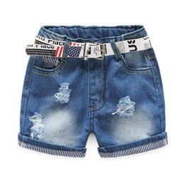 Wholesale Motherbear Little Girls Clothing Baby Kids Shorts Fashion Girls Denim Pants Hot Girl Jeans Must Buy Children Clothes Short Trousers