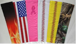 Free shipping for kadsports necklace and arm sleeves baseball Outdoor Sport Stretch compression