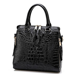 2016 New Fashion Women Lash Package PU Leather Bags Crocodile Pattern Handbag Shoulder Crossbody Bag Clutch Bag Free Shipping