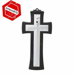 Wholesale New Spy Mini Cross DV camera whole machine UV coating fashion Support webcam chat with network Latin Cross hidden camera