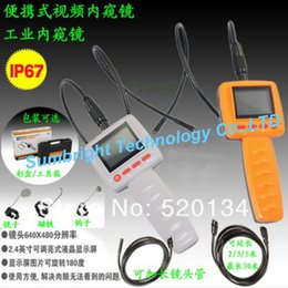 Wholesale SB IE99D mm M best sale car industrial mini snake cam garage promotion quot color LCD borescope with brightness LED
