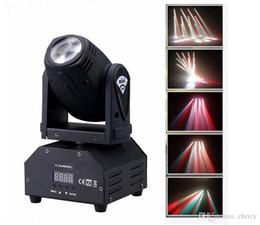 Wholesale led IN1 mini led spot moving head light Sound activated Mini Moving Head Light DMX dj effect stage lights ktv bar disco