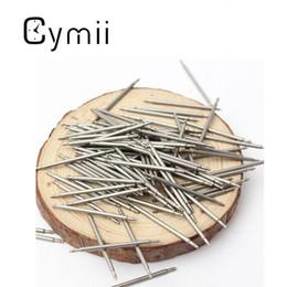 Descuento bandas de acero inoxidable enlaces Cymii mayor-100pcs 20mm reloj de acero inoxidable para la banda elástica bares con watchstrap Enlace prendedores removedor excelente calidad