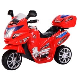 Wholesale 3 Wheel Kids Ride On Motorcycle V Battery Powered Electric Toy Power Bicyle New