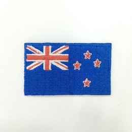 Custom papua new guinea flag patch hot cut iron on backing good service free shipping different countries for clothing