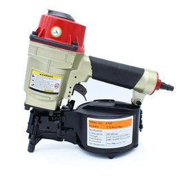 Wholesale High Quality CN55 Industrial Pneumatic Coil Nailer Roofing Air Nail Gun Tool Pneumatic Nailing Tool