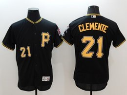 Wholesale Pittsburgh Pirate baseball jersey flex base jerseys CLEMENTE McCUTCHEN ALVAREZ BONDS STARGELL MARTE HARRISON shirt top new shirts tops