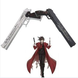 Wholesale Hot Unique Popular HELLSING Alucard Cosplay BLACK WHITE PU Resin Gun import Accessories Prop