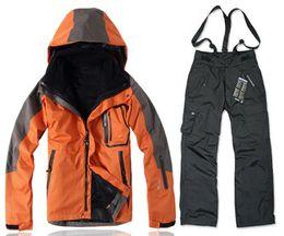 Men ski suit jacket and pants outdoor snow snowboard jacket waterproof sport clothes for men