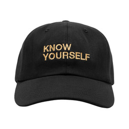 Wholesale RARE Kanye West Know Yourself Kendrick Lamar untitled unmastered Ye Bear Dad ANTI scott drake Own OVO god Hat wolves caps