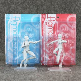 12cm 2 figma BODY transparent He she Grey color Ferrite PVC Action Figure Figma Figure Ornaments Hand To Do free shipping EMS