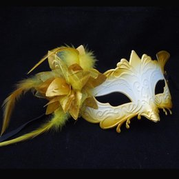 Sexy Monster Mask Lateral flower mask Half Face Venetian Masquerade Party Mask Carnival Halloween Mask Mardi Gras masks free shipping