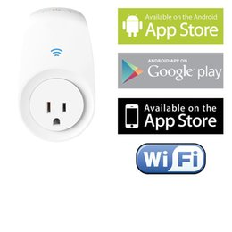 Wholesale Wi Fi Smart Switch for Controlling Electronics and Monitoring Energy Usage with Home Automation App for Smartphones White
