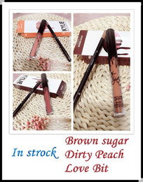 Wholesale In Stock Brown Sugar Dirty Peach Love Bite KYLIE JENNER LIP KIT Kylie Matte Liquid Lipstick Lip Liner Kylie lip New Color