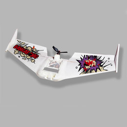 Wholesale X UAV RC Planes Drones mm Wingspan MFM FPV UAV CH RC Ripper Wing Airplane with A ESC S mah lipo for Adult