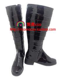 Wholesale Hitman Reborn Demon Spade D spade cos Cosplay Shoes Boots shoe boot JZ199 anime Halloween Christmas