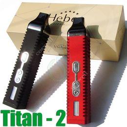 Vaporizador de hierbas Titan 2 kit kit de pluma 3 velocidades de temperatura ajustable 2200mah pantalla LED de dos colores VS titan1 snoop g pro DHL libre desde vaporizador de pantalla led proveedores