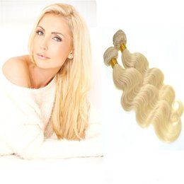 #613 Hair Bundles High Quality Brazilian Body Wave Hair Weaves 8A Best Quality Virgin Human Hair Extensions Double Weft No Shedding