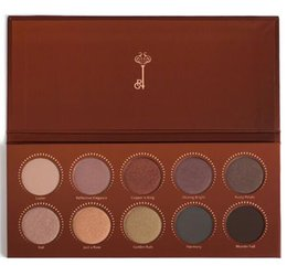 Wholesale In stock ZOEVA color Eyeshadow Palette Mixed Metals Cocoa Blend Rose Golden Matte Eyeshadow Contour Palette Eye Shadow