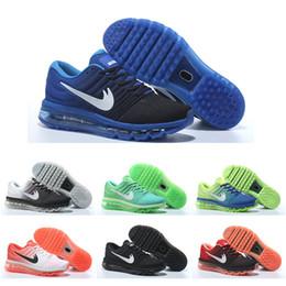 Descuento hombres zapatos nuevos estilos Zapatos corrientes al por mayor envío de la gota mujeres de los hombres del amortiguador de aire Superficie Páginas 2017 zapatillas de deporte de las botas 2016 del nuevo estilo de la alta calidad al aire libre Calzado deportivo 5,5-11
