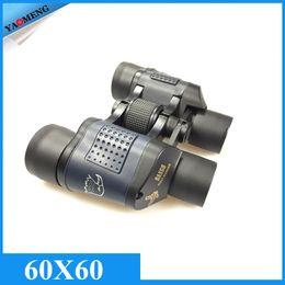 Wholesale Top Binocular Telescope X60 High Clarity M Observation Night Vision Optical Green Film Binoculars with Rangefinder Reticle