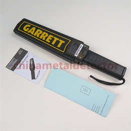 Brand New High Sensitivity Garrett Super Scanner Hand Held Gold Metal Detector For Security Detectors High quality