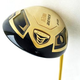 New Golf Clubs HONMA S-03 4 star Gold Golf driver 9.5 10.5 loft Graphite Golf shaft headcover driver clubs Free shipping