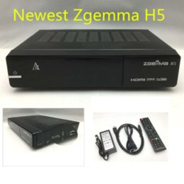 Wholesale Newest Zgemma H5 Enigma Linux Dual AVS FEATURES for DV S2 Hybrid Tuner DV T2 C DMIPS CPU PROCESSOR More than x linux kernel