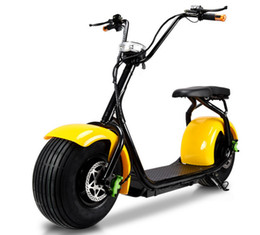Wholesale 2016 hot sale two wheels ride on instead of walking colorful customizable citycoco electric scooter