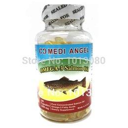 Wholesale capsul Medi Angel Omega Salmon Fish Oil Health Supplement Softgel mg capsul oil roll oil filter audi a6