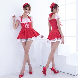 Wholesale Sexiest Outfit Japan - Wholesale-New Arrival Japan maid sexy anime cosplay women sexy maid costomes dress Cafe Servant Costumes outfits E88