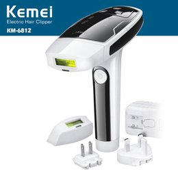 Wholesale KEMEI KM Photon Hair Removal Device Laser Epilator Permanent hair reduction for full Body