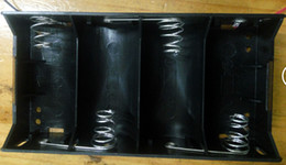 Three packages mail high quality can put 1 of 4 batteries battery box In series battery pack