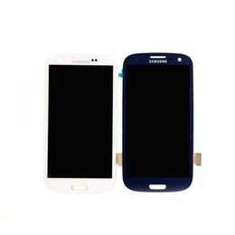 Wholesale DHL free Samsung Galaxy S3 i9300 LCD digitizer screen assembly original alternative framework