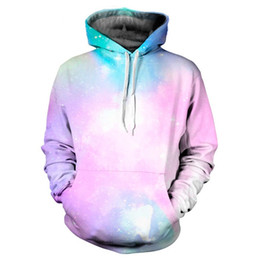 Youthcare Mens Hoodie Women Hoodie 3D printed Pink Galaxy Hoodie Oversize Pullover Long sleeve tops Sweater