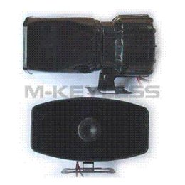 Wholesale AUTO WARNING ALARM SIREN HORN V SOUND PA SPEAKER SYSTEM AMPLIFIER MIC water speaker boombox
