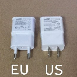 100% Real 5V 2A EU Wall Charger for Samsung Galaxy S3 S4 S5 S6 Mini Note 2 3 4 Plug N7100 USB Travel Charger adapter