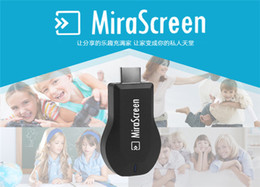 Wholesale MiraScreen OTA TV Stick Dongle Better Than EZCAST EasyCast Wi Fi Display Receiver DLNA Airplay Miracast Airmirroring Chromecast DHL V1627