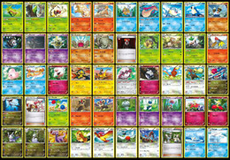 Wholesale Poke Trading Card Game Newest English Edition XY Anime Monsters Cards board games Card Toys for Kid