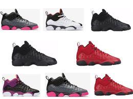 Wholesale 13S Lows Jump man Team Retros Womens basketball shoes outdoor basket Women Retro low black purple grey red