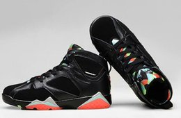 Wholesale Barcelona Air Retro Retro s Barcelona Nights Black Infrared Black basketball shoes sports shoes Size