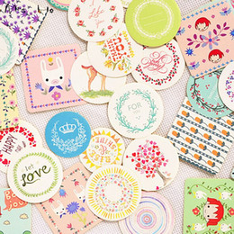 """380pcs lot Gift Diary Sticker Label """"For You"""" Packaging Label Packing Cookie Biscuit Cake Box Sealing Sticker Labels Korea PP496"""