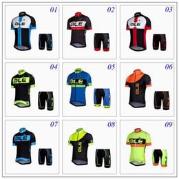 Купить Онлайн Франция человек-2016 ALE ПРР с коротким рукавом Велоспорт Джерси + короткий велосипед спортивный человек Женщины езда на велосипеде рубашки Tour De France 11 стилей XS-4XL