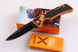 Wholesale Special offer New Top quality GB Bear Small Pocket Folding knife EDC Pocke knife Gift knives with retail paper box packing