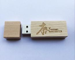 10 Piece 4GB 8GB No Logo Wood USB Drives Capacity Enough U Disk USB2.0 Environmental protection USB Flash Drives