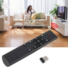 Wholesale NEW KODI FM4 Wireless keyboard for FM4 smart mouse in air Android TV BOX XBMC Remote Control satellite tv receiver