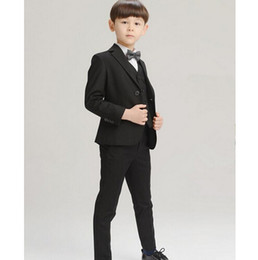 High Quality new arrival fashion baby boys kids blazers boy suit for weddings prom formal dress wedding boy suits 4pcs