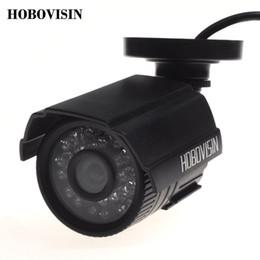HOBOVISIN Security camera 800TVL IR-Cut Filter 24 IR Day Night Vision Video Outdoor Waterproof Surveillance CCTV Camera